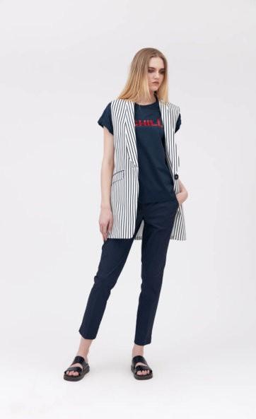 Комплект с брюками (жилет, брюки и майка) 23448