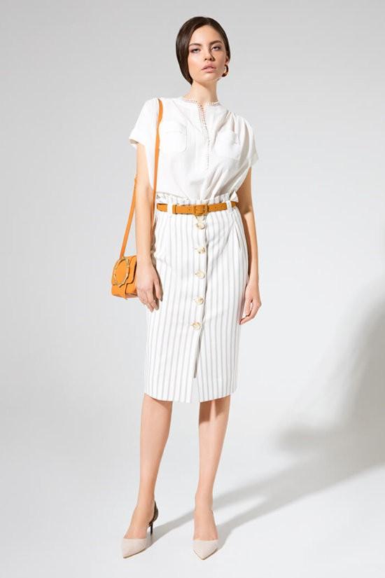 Комплект с юбкой (блуза и юбка) L 2395