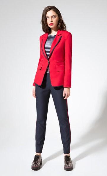 Комплект с брюками (жакет, брюки и джемпер) L 3334