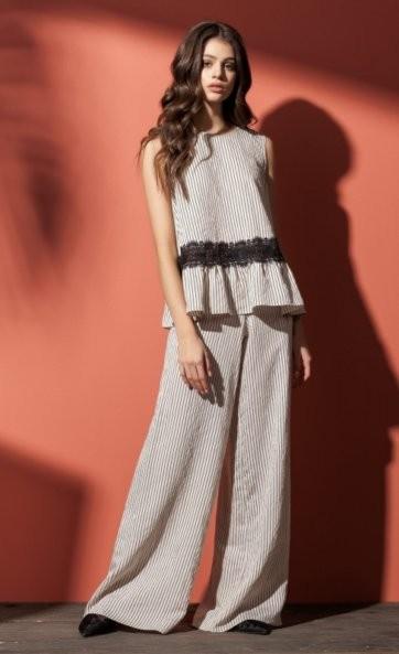 Комплект с брюками (блуза 20102 и брюки 4604)