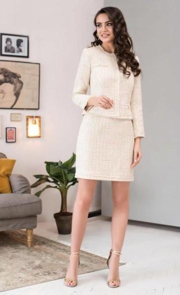 Комплект с юбкой (жакет и юбка) 973-2